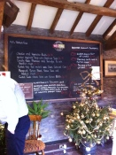 Weston's cafe menu