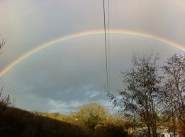 Rainbow over Caplor