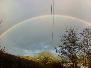 Rainbow over Caplor