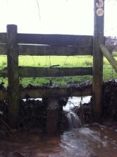 Flooded stile