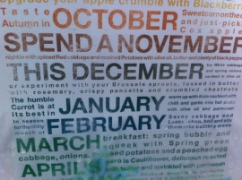 Seasonal produce calendar 3