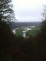Wye floods from Capler viewpoint
