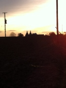 Sunset over Lillands