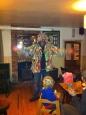 Crown landlord Matt in Morris costume