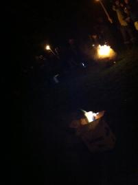 Wassail fires