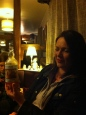 Lucia with very local cider