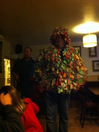 Matt in costume again..