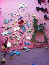 Twelfth Night - taking down the solstice decorations