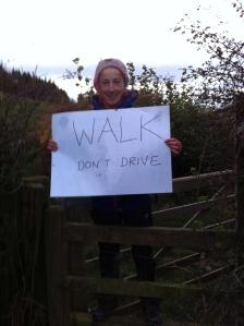 Walk don't drive