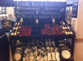 Fresh local berries