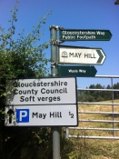 May Hill signs