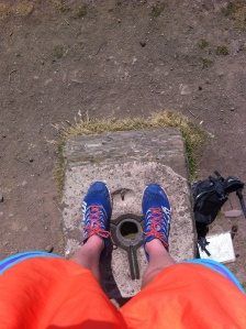 May Hill trig point tracktivist
