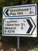 Glasshouse to Taynton