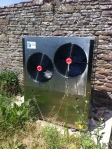 Air source heat pump installed nearTaynton