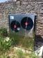 Air source heat pump installed near Taynton
