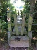 Wysis Way footbridge The Grove, Tibberton