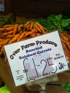Over Farm carrots