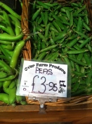 Over Farm peas