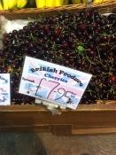 Over Farm cherries