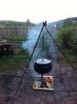 Cauldron and garden