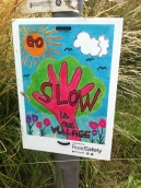 Slow sign, Dymock