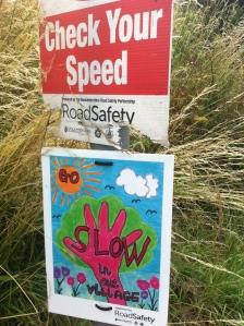 Slow signs, Dymock