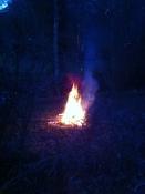 Bonfire at the Falcon